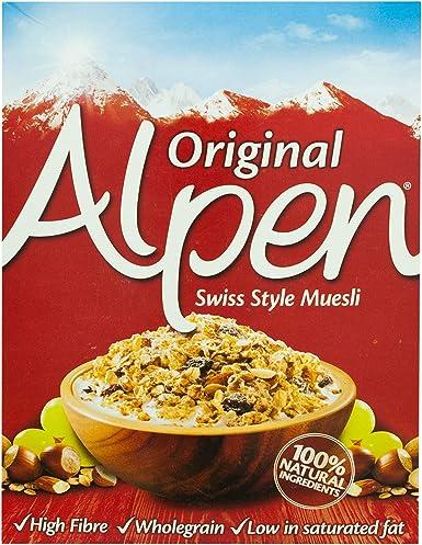 Alpen Cereales Muesli Original , Caja 625 gr: Amazon.es: Alimentación y bebidas
