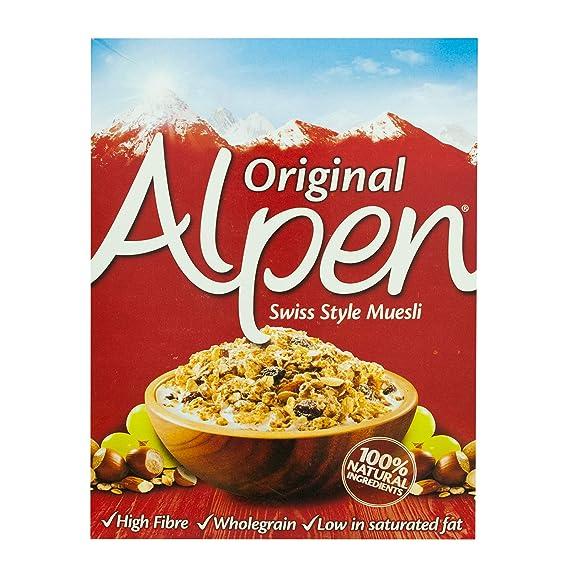 Alpen Cereales Muesli Original, Caja 625 gr: Amazon.es: Alimentación y bebidas