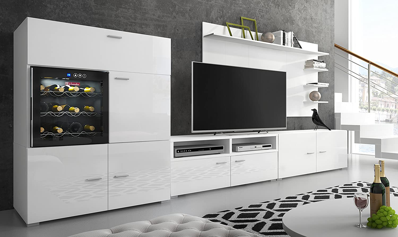 Comfort Home innovation - Living room set wine cellar finished in ...