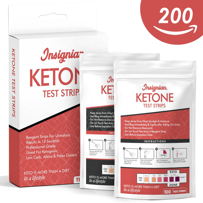 Amazon Ketone Test Strips By Insignian 200 Professional