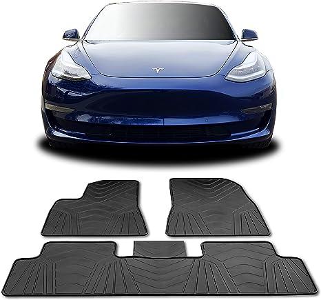 Amazon.com: Alfombrillas # 1 Tesla modelo 3 para todo tipo ...