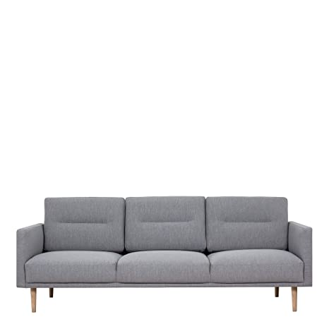 Remarkable Furniture To Go Larvik Modern Fabric 3 Seater Sofa Light Evergreenethics Interior Chair Design Evergreenethicsorg