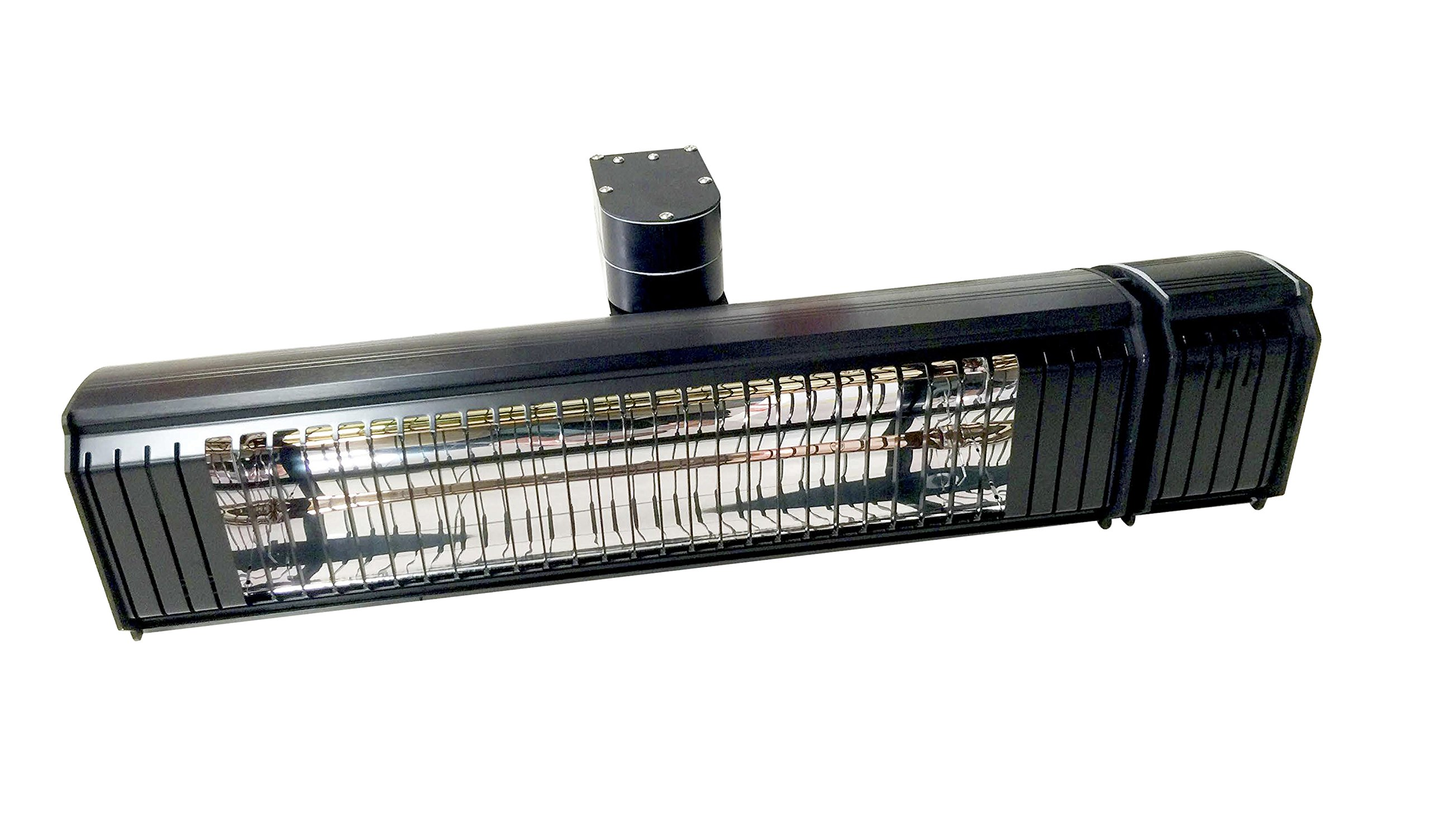 1500 Watt Infrared heater with full up and down and side to side adjustability. Remote controlled Wall Mount Heater Indoor/Outdoor, Commercial/Residential