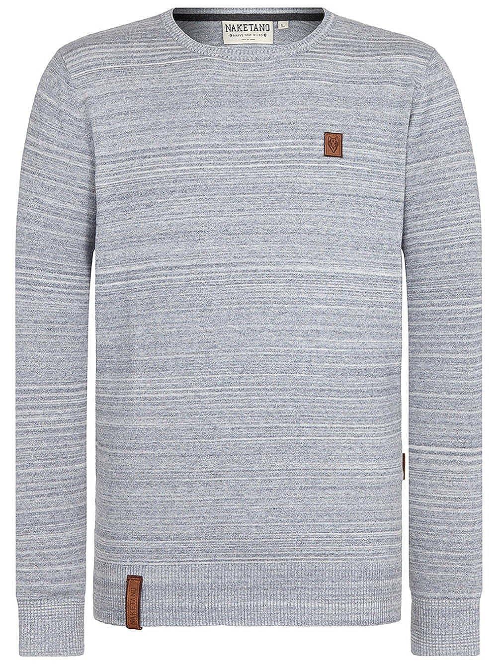 Naketano Men's Knit Sweater MDMA Macht aha 1730-2024