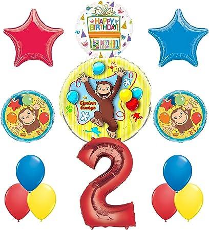 Amazon.com: Jorge el curioso 2 nd fiesta de cumpleaños ...