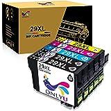 ONLYU 5-Paquete Epson 29 XL 29XL Cartucho de Tinta Compatible con Epson Expression Home XP-235 XP-245 XP-247 XP-330 XP-332 XP-335 XP-342 XP-345 XP-430 XP-432 XP-435 XP-442 XP-445