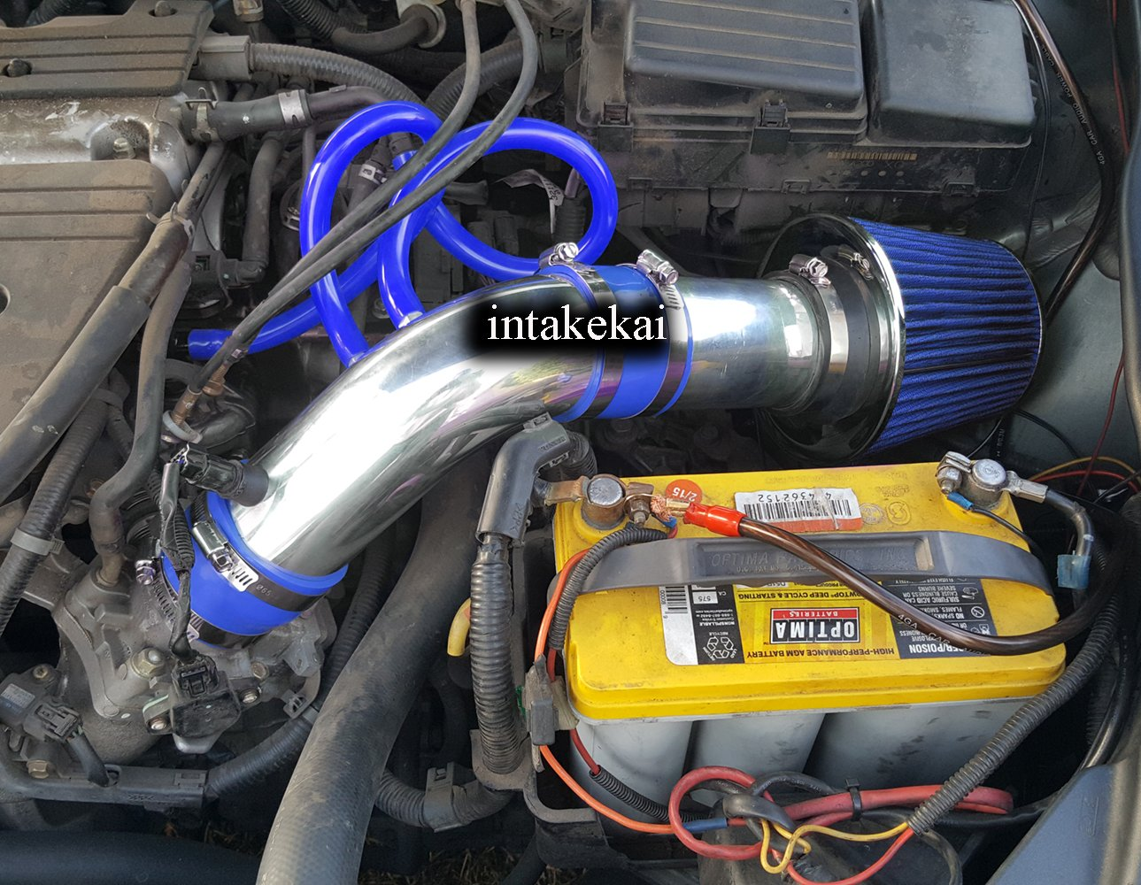 Performance Air Intake for 2004 2005 2006 2007 2008 ACURA TSX 2.4 l4 BASE ENGINE (BLUE) by INTAKE KAI