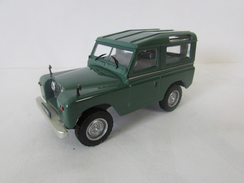 Landrover II voiture de collection à l'échelle 1:43 verte -réf P167