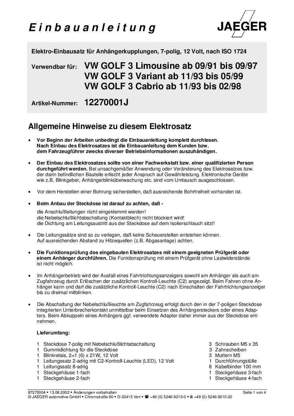 Ungewöhnlich Anhängerstecker 7 Fach Zeitgenössisch - Die Besten ...