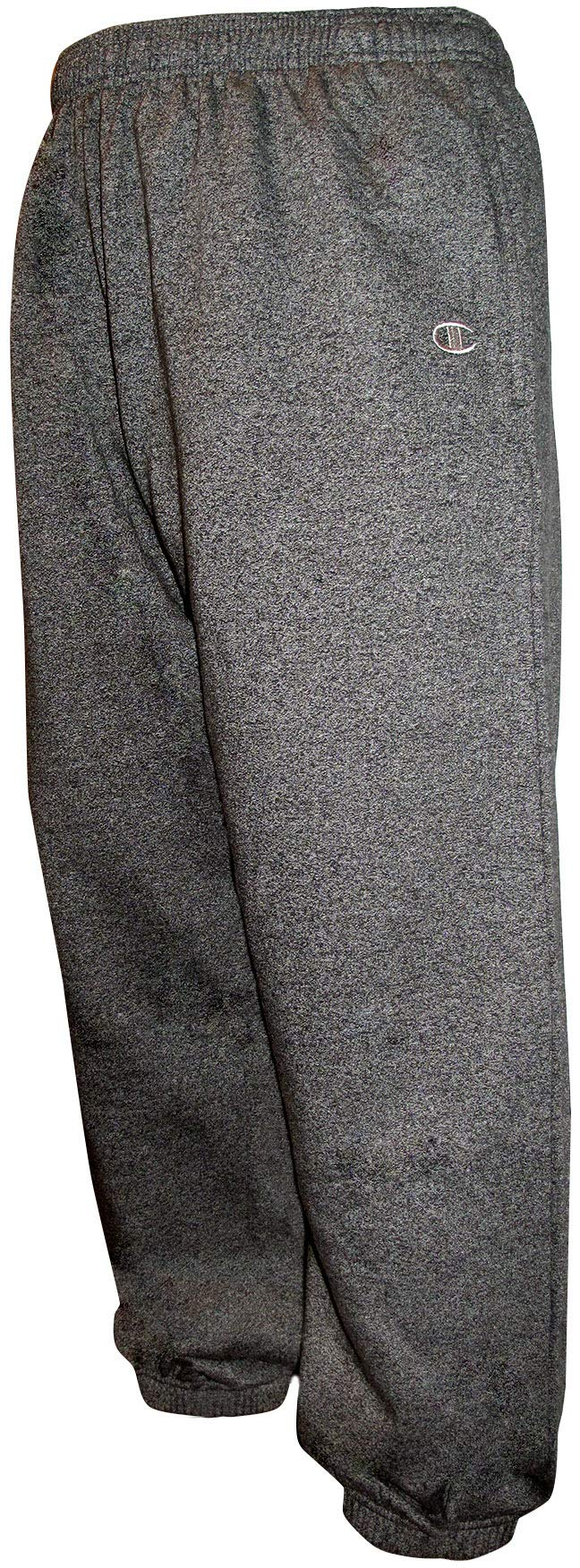 1738d5aac1e90 Champion Men's Big-Tall Fleece Sweatpants with Elastic Waistband and  Drawstring product image