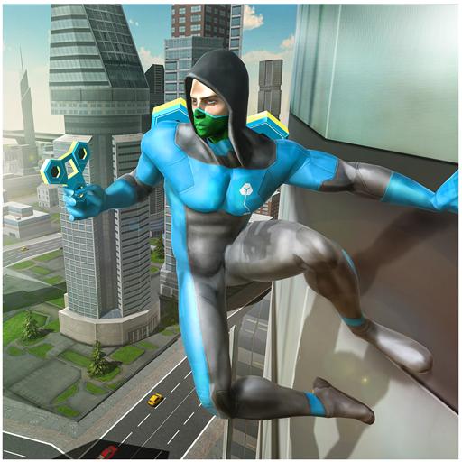 Fidget Spinner Flying Superhero Game]()