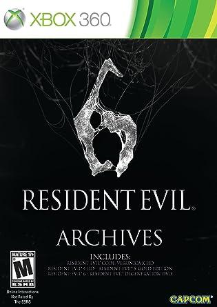 Amazon Com Resident Evil 6 Archives Xbox 360 Capcom U S A Inc