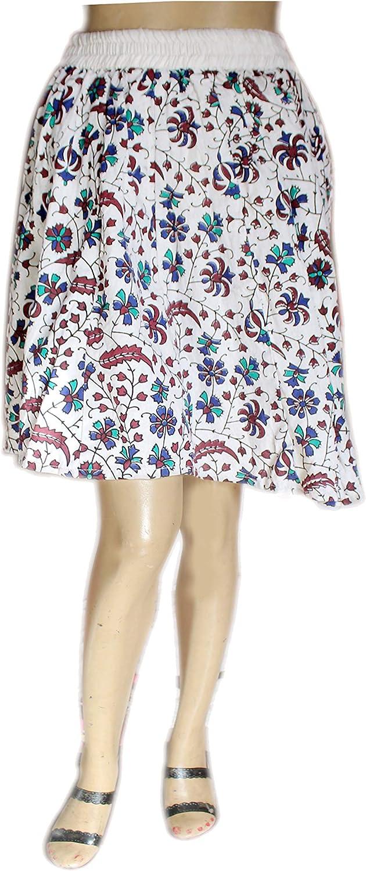 Lakkar Haveli - Mini Falda para Mujer, Estilo Gitano, Informal ...