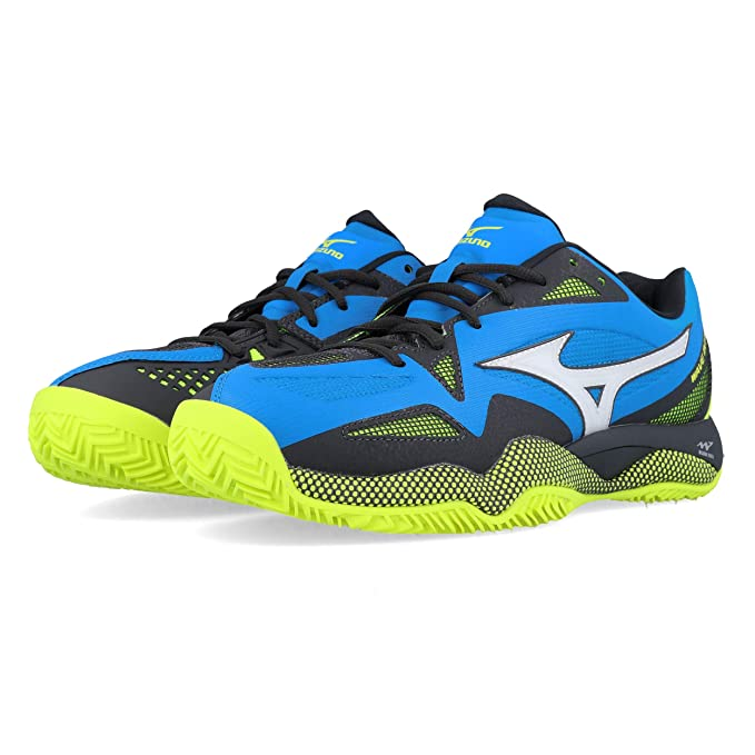 Mizuno Zapatos Tenis Hombre Wave Intense Tour 4 CC: Amazon.es ...