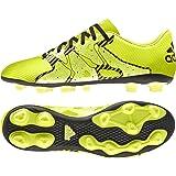adidas X 15.4 Fg, Chaussures de Football Compétition Homme, Jaune Fluo, 40 EU