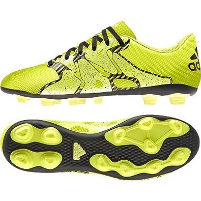 adidas Performance X 15.4 FG, Herren Fußballschuhe, Gelb (Solar  Yellow/Solar Yellow