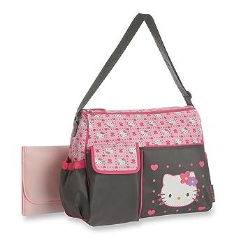 130a2b44d6d8 Amazon.com   Hello Kitty Duffle Diaper Bag