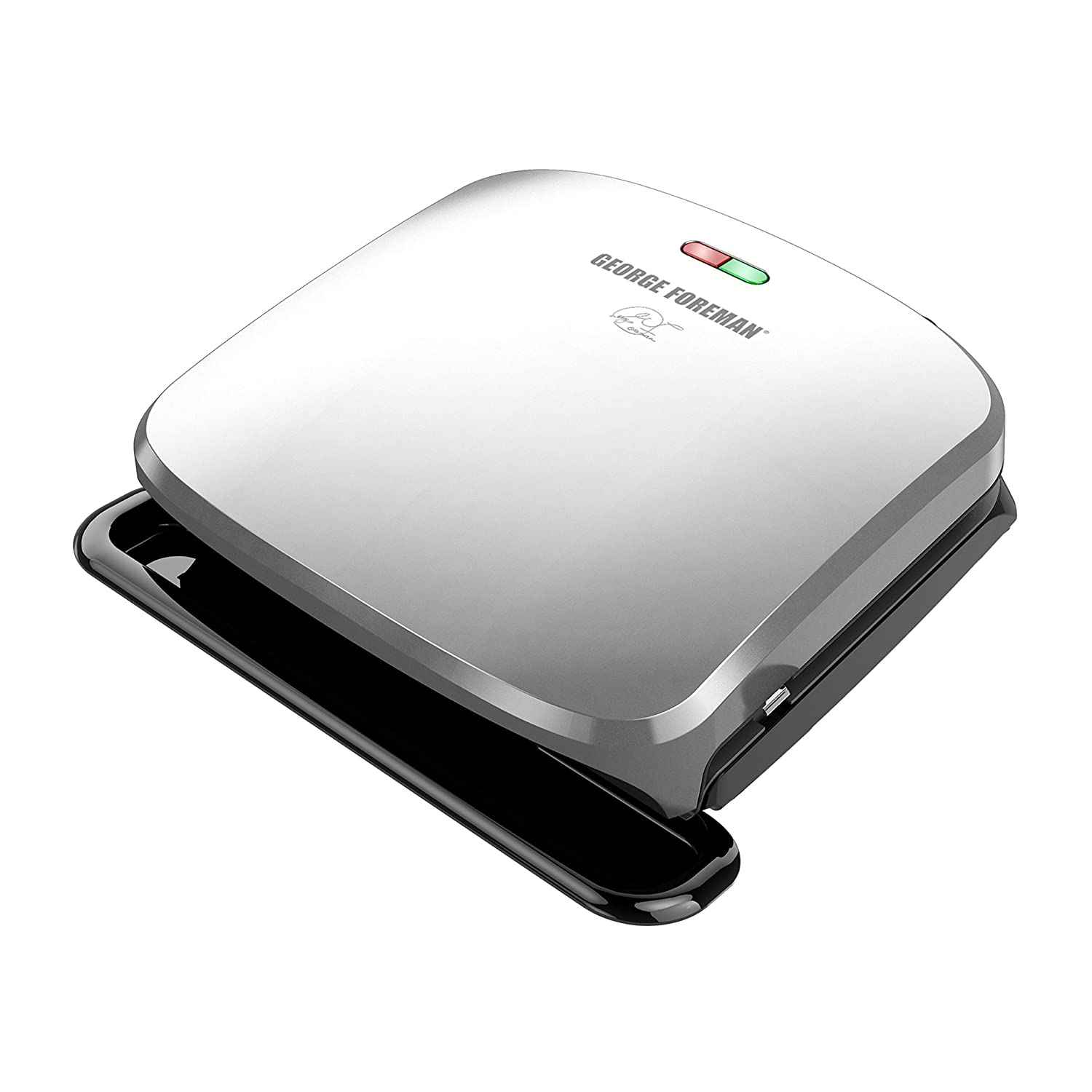 George Foreman 4-Serving Removable Plate Grill and Panini Press, Black, GRP1060B Spectrum Brands