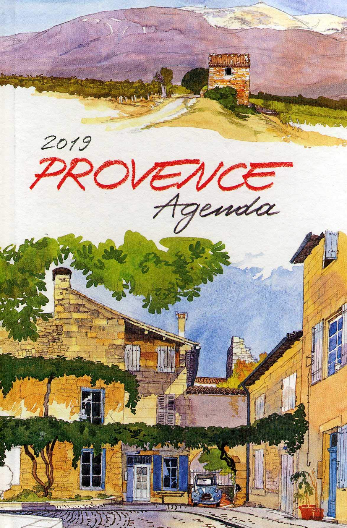 Provence Agenda 2019: Edition Didier Millet: 9789814610674 ...