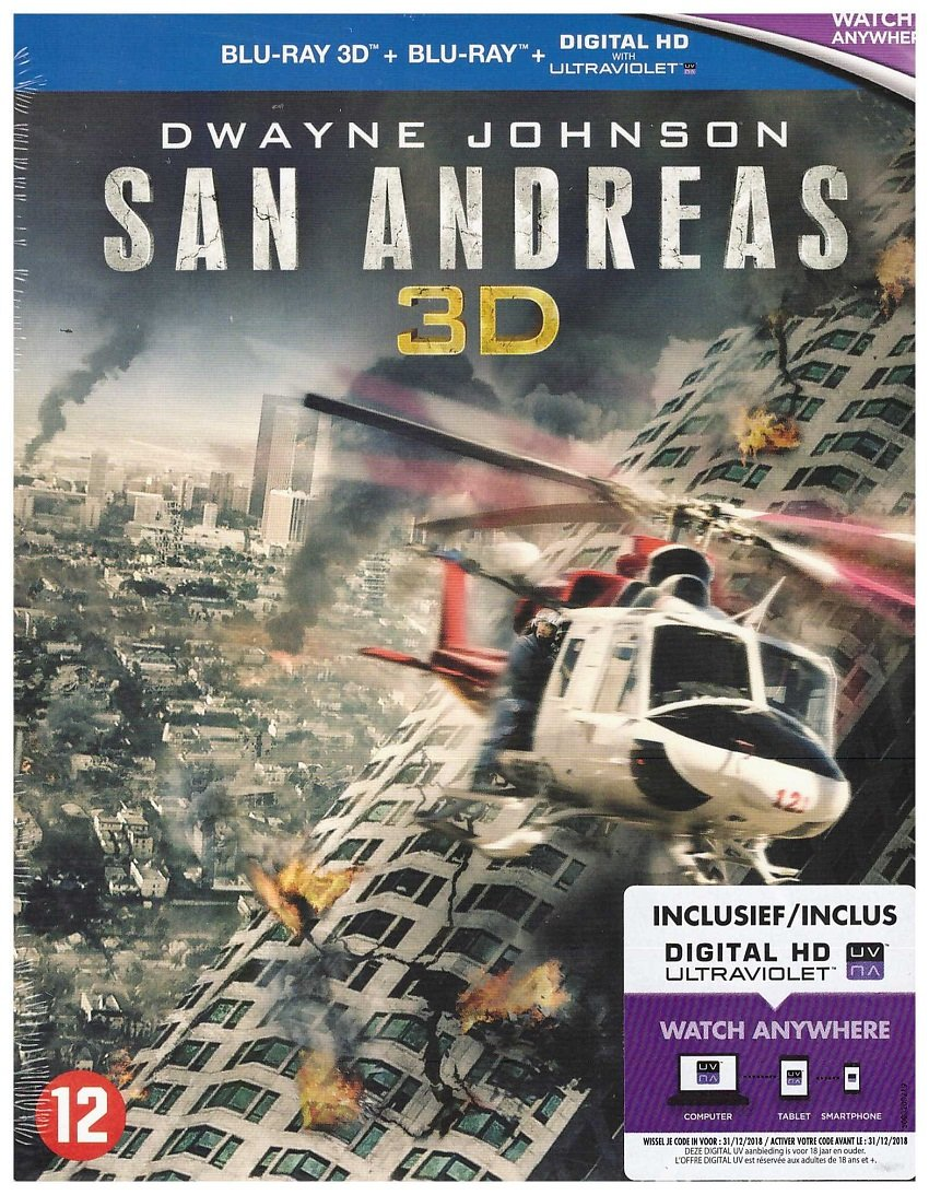 San Andreas 3D + 2D [Blu-ray]: Amazon.es: Dwayne Johnson, Carla ...