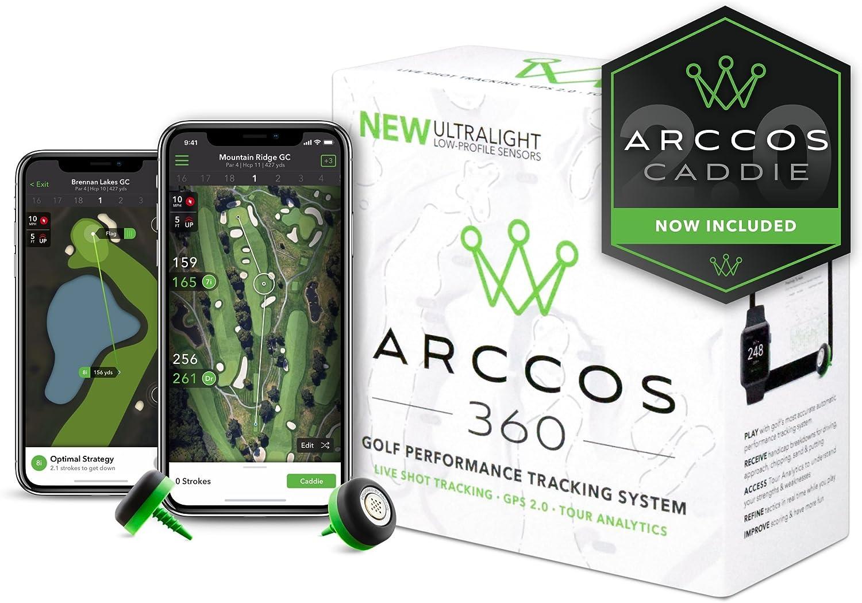 Arccos Golf Arccos 360Golf Performance du système de Suivi, Mixte, 360