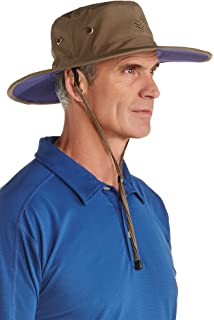 0d6e5206 Coolibar UPF 50+ Men's Crushable Ventilated Hat - Sun Protective at ...