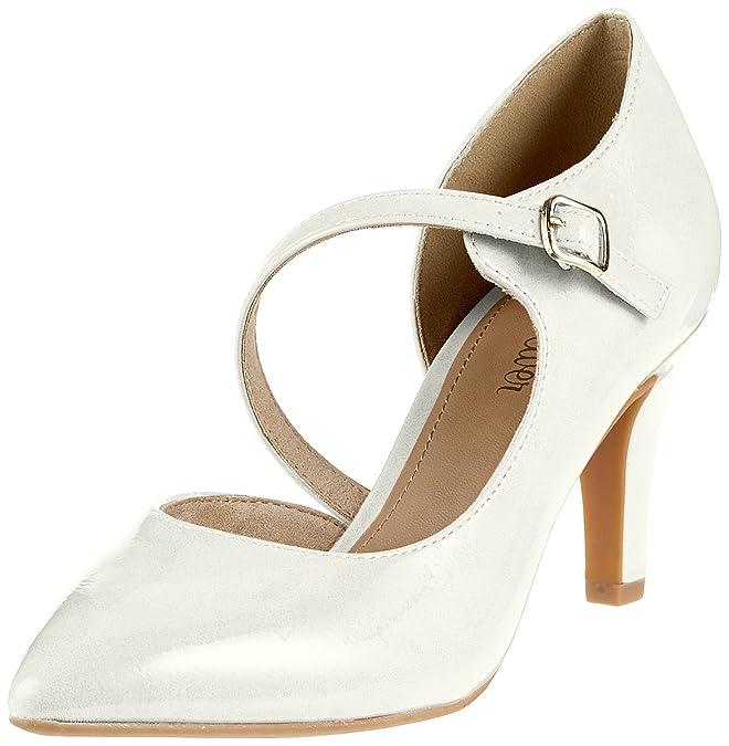 Womens 24401 Closed Toe Heels s.Oliver fFjcDOaB0