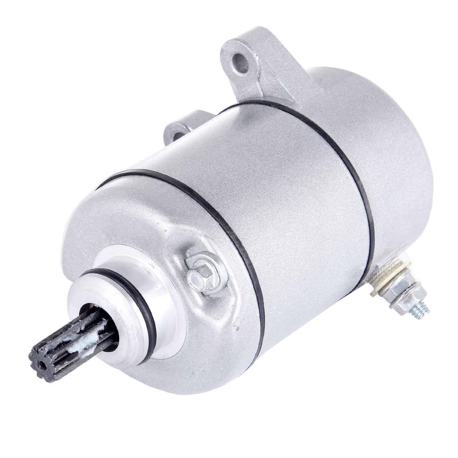 ECCPP Electric Starter Motor For 2000 2001 2002 2003 2004 2005 2006 HONDA TRX350FE TRX350FM TRX350TE TRX350TM RANCHER 4x4 ES 329cc ATV by ECCPP