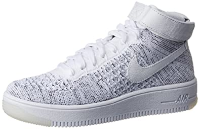 Nike Performance Damen Mid Cut Sneakers Air Force 1 Flyknit ...