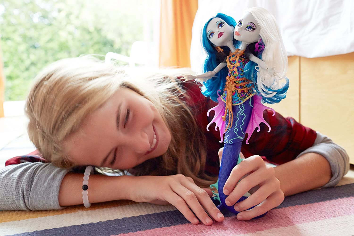 Amazon Monster High Great Scarrier Reef Peri Pearl Serpintine Doll Toys Games