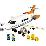 Ecoiffier - 3045 - Jeu De Construction - Avion Happy Jet - Abrick