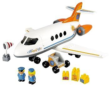Smoby Avión Ecoiffier Jet3045 Jouets Happy 80nXwOPk