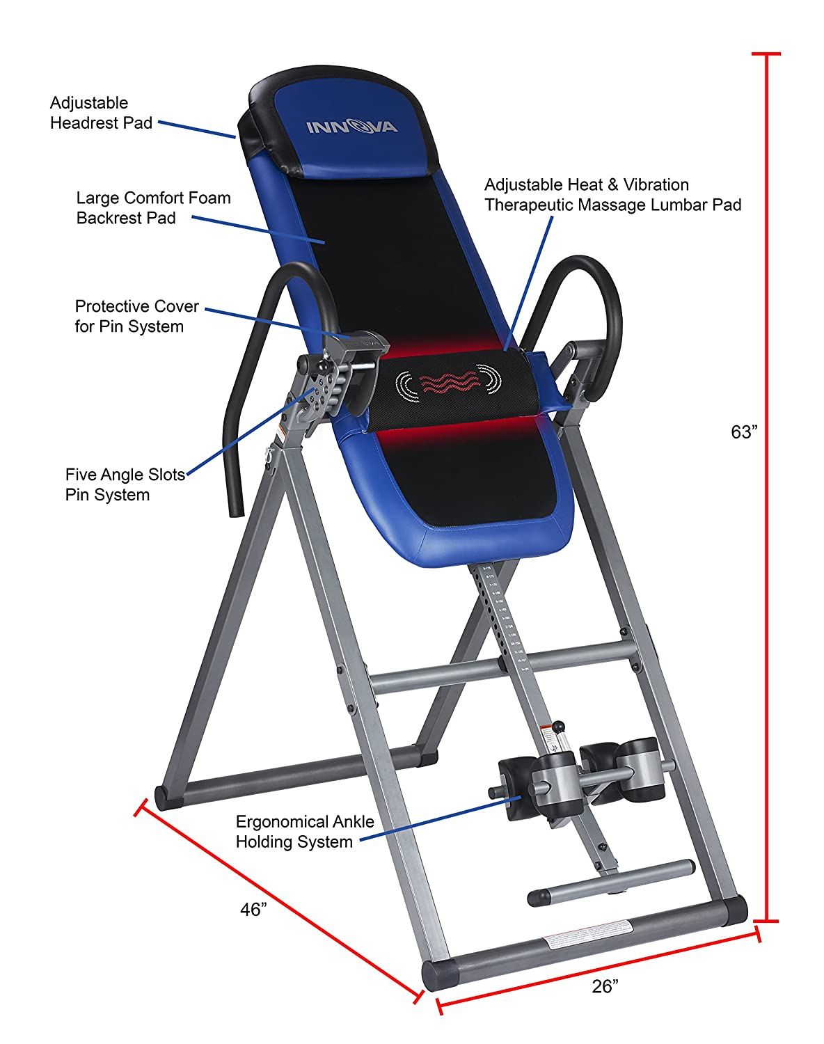 Heavy Duty Inversion Tables With High Weight Capacities | For Big ...