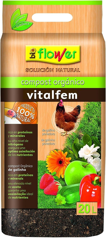 Flower 80126 80126-Compost orgánico, No No Aplica, 30x6x55 cm
