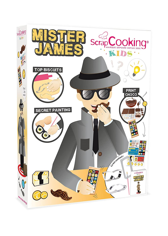 ScrapCooking 3700392438005 Mister James Cookie Making Kit