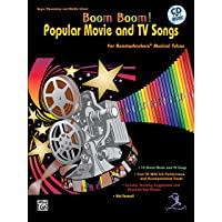 Boom Boom! Popular Movie and TV Songs for Boomwhackers Musical Tubes: For Boomwhackers(r) Musical Tubes, Book & CD