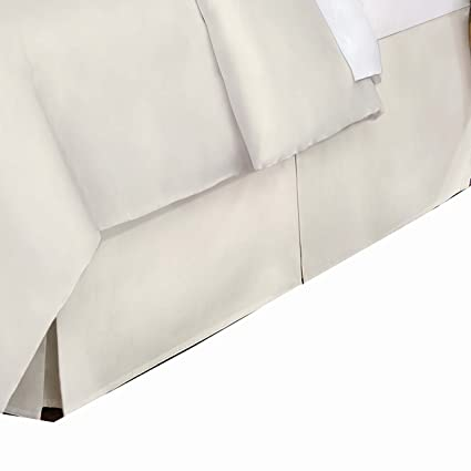 Belles & Whistles 400 Tc Bed Skirt, Queen, Ivory
