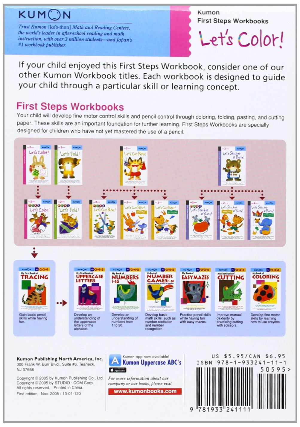 Workbooks buy kumon workbooks : Let's Color! (Kumon Workbooks): Amazon.co.uk: Kumon Publishing ...