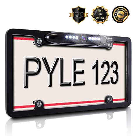 Parts & Accessories The Cheapest Price Car License Plate Frame Rearview Reverse Back-up Camera Kit Night Vision Ir 170° In Many Styles