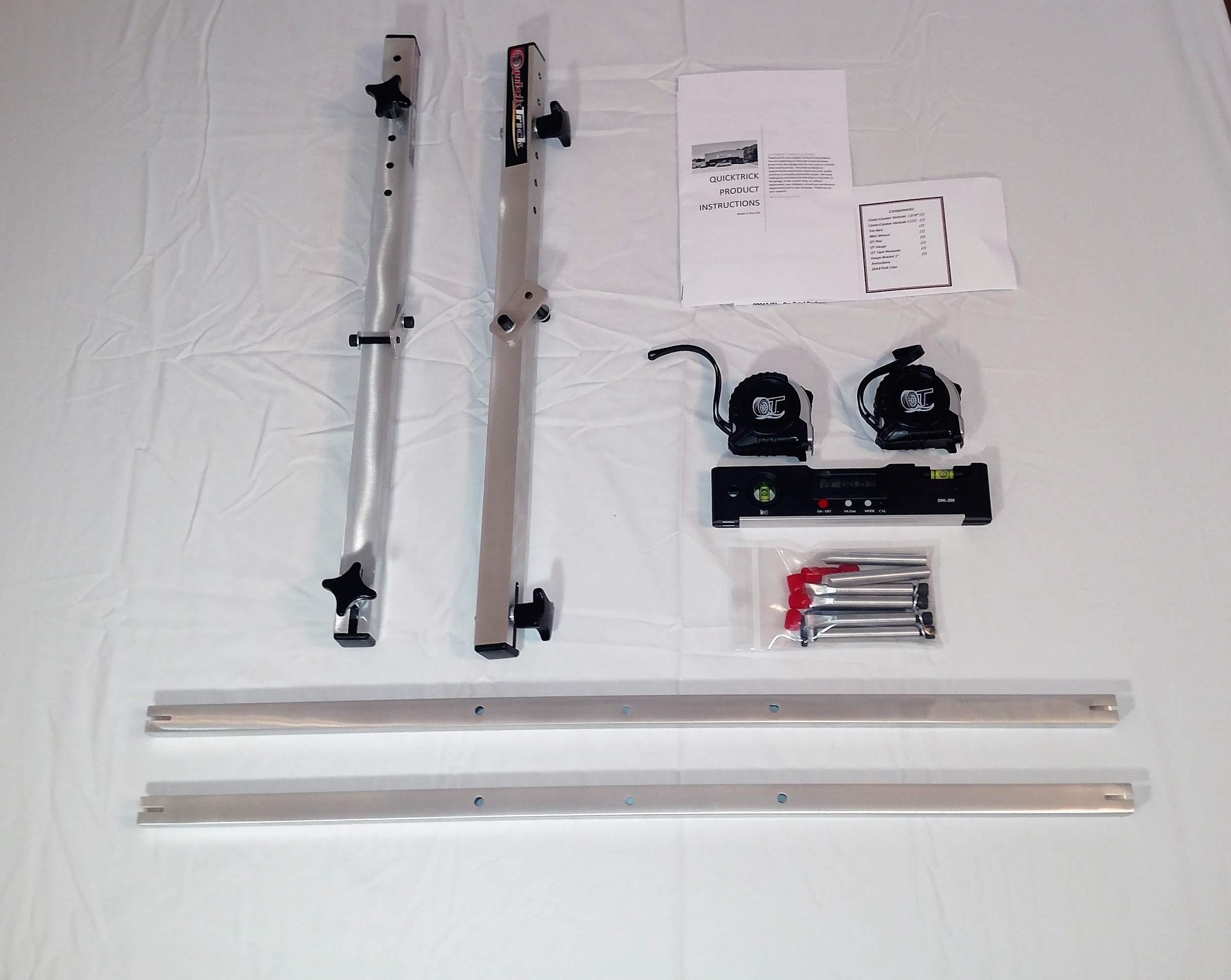 QuickTrick 4th Gen Portable Wheel Alignment Kit (17-22'' Wheels) by QuickTrick (Image #1)