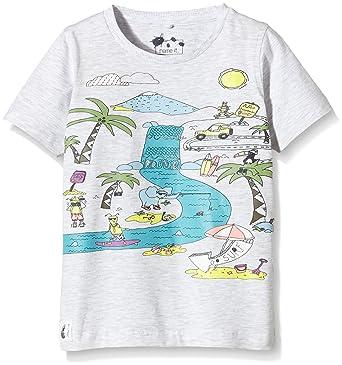 ff56246a Name It Boy's Nitining M SS Top 216 Ger T-Shirt, Grey (Light Grey ...