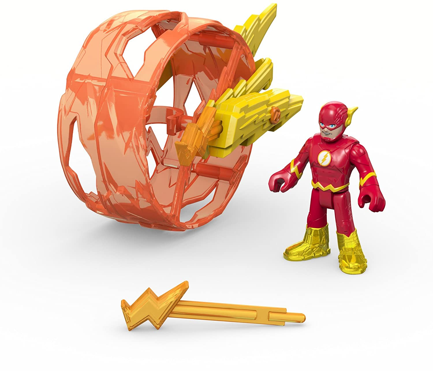 Fisher-Price Imaginext DC Super Friends Flash and Cycle Figure Pack Mattel DHT70