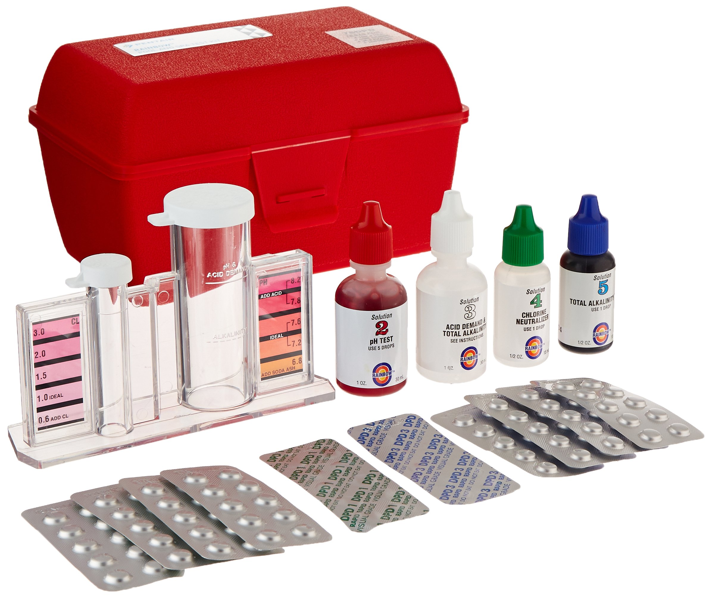 Pentair R151246 78DPD All-in-One DPD Test Kit by Pentair
