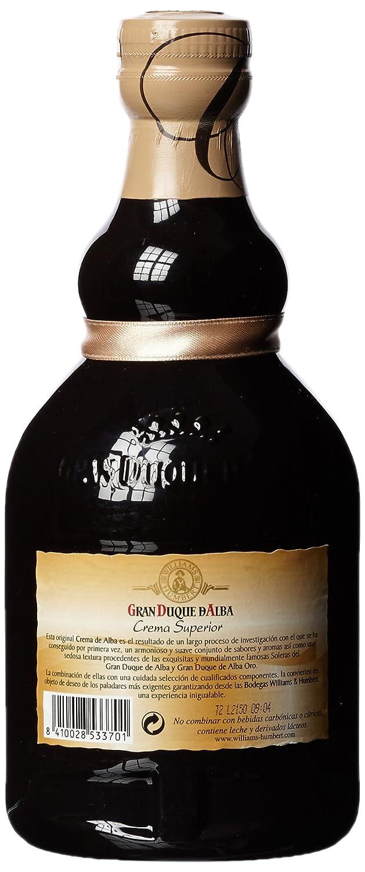 Crema D alba Gran Duque de licor (1 x 0,7 l): Amazon.es: Alimentación y bebidas