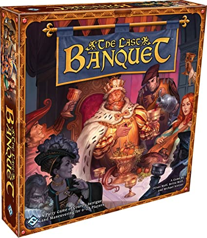 Amazon Com The Last Banquet Fantasy Flight Games Toys Games