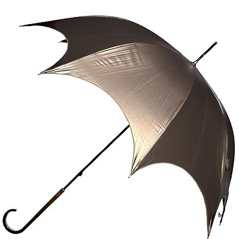 Vogue umbrella- una verdadera elegante Petite paraguas con borde festoneado Detalle. Ideal para un