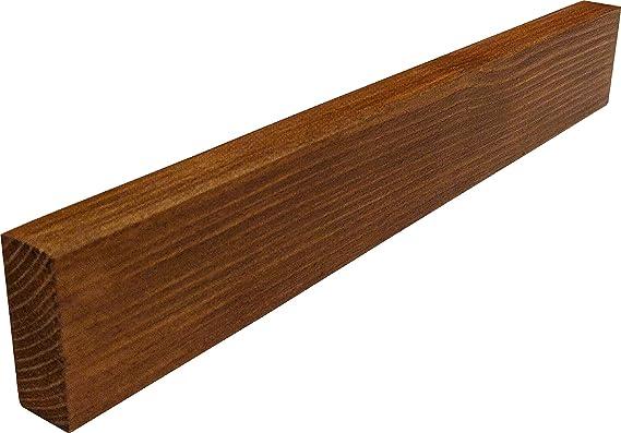 Simple Useful Wood Magnetic Knife Strip 10 inch - Magnetic Knife Holder Rack Bar Block