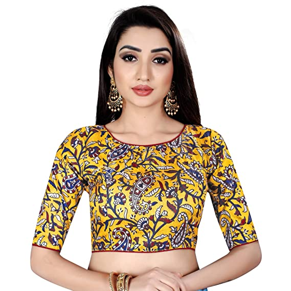 Buy Flybird Fashion Cotton Print Boat Neck Design Blouses For Womens X Large At Amazon In