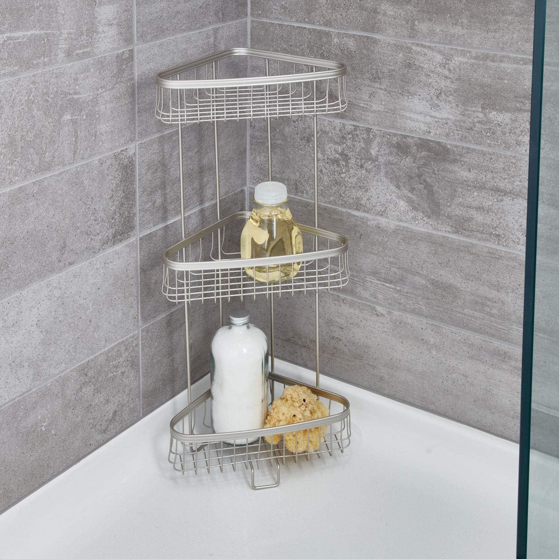 InterDesign York Lyra Estantería para baño, pequeño Estante ...