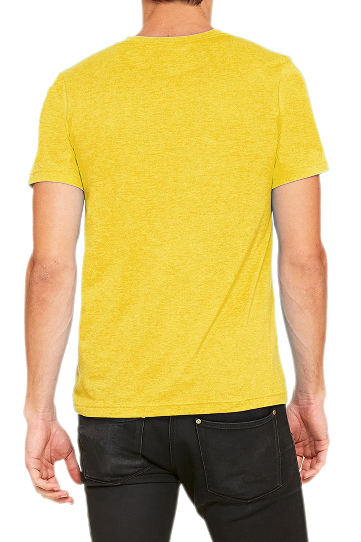 3cd9878fedcb TOP LEGGING TL Men Casual Basic Short Sleeve Tri-Blend/100% Cotton V-Neck T  Shirt ...